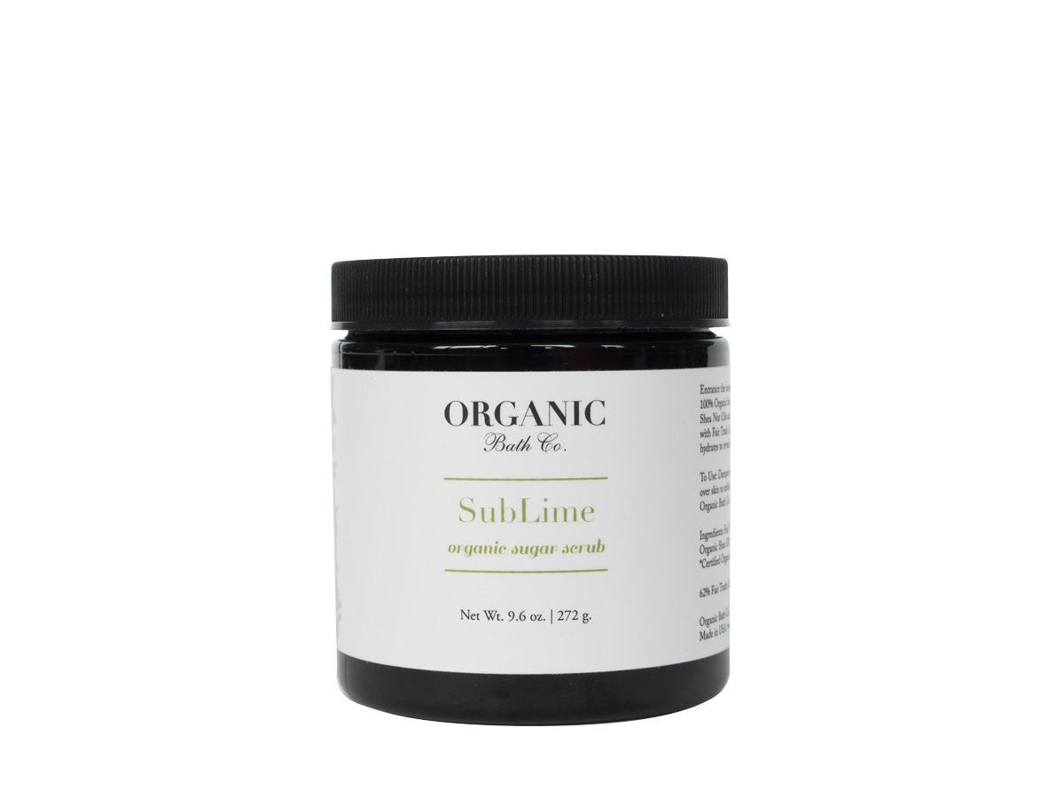 Organic Bath Co. SubLime Body Scrub, Organic Bath Co. - ShopConsciousBeauty.com