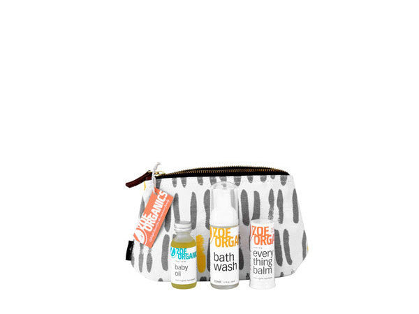 Zoe Organics Baby Travel Sets