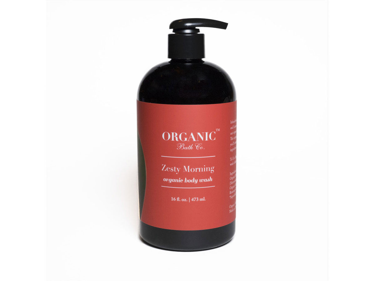 Organic Bath Co. Zesty Morning Organic Body Wash, Organic Bath Co. - ShopConsciousBeauty.com