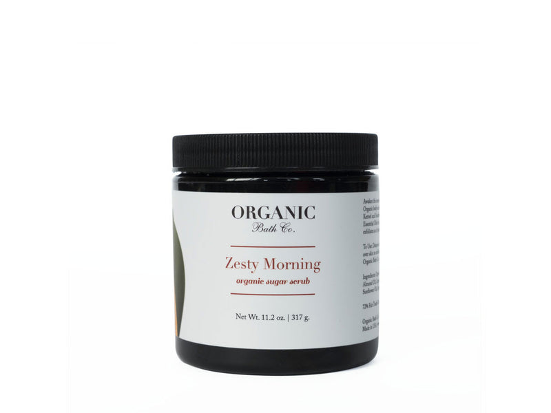 Organic Bath Co. Zesty Morning Organic Body Scrub, Organic Bath Co. - ShopConsciousBeauty.com