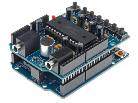 AUDIO SHIELD PARA ARDUINO