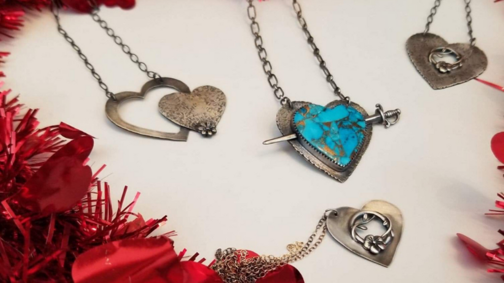 Romantic Jewelry with a Bohemian Twist: Bonfire Design's Valentine's Day Collection