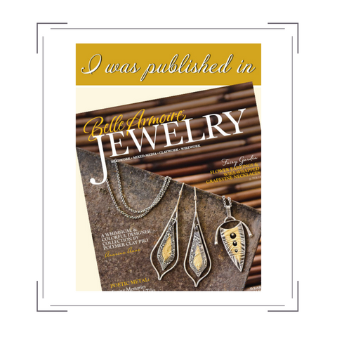 Bonfire Design published in Belle Armoire Jewelry Magazine