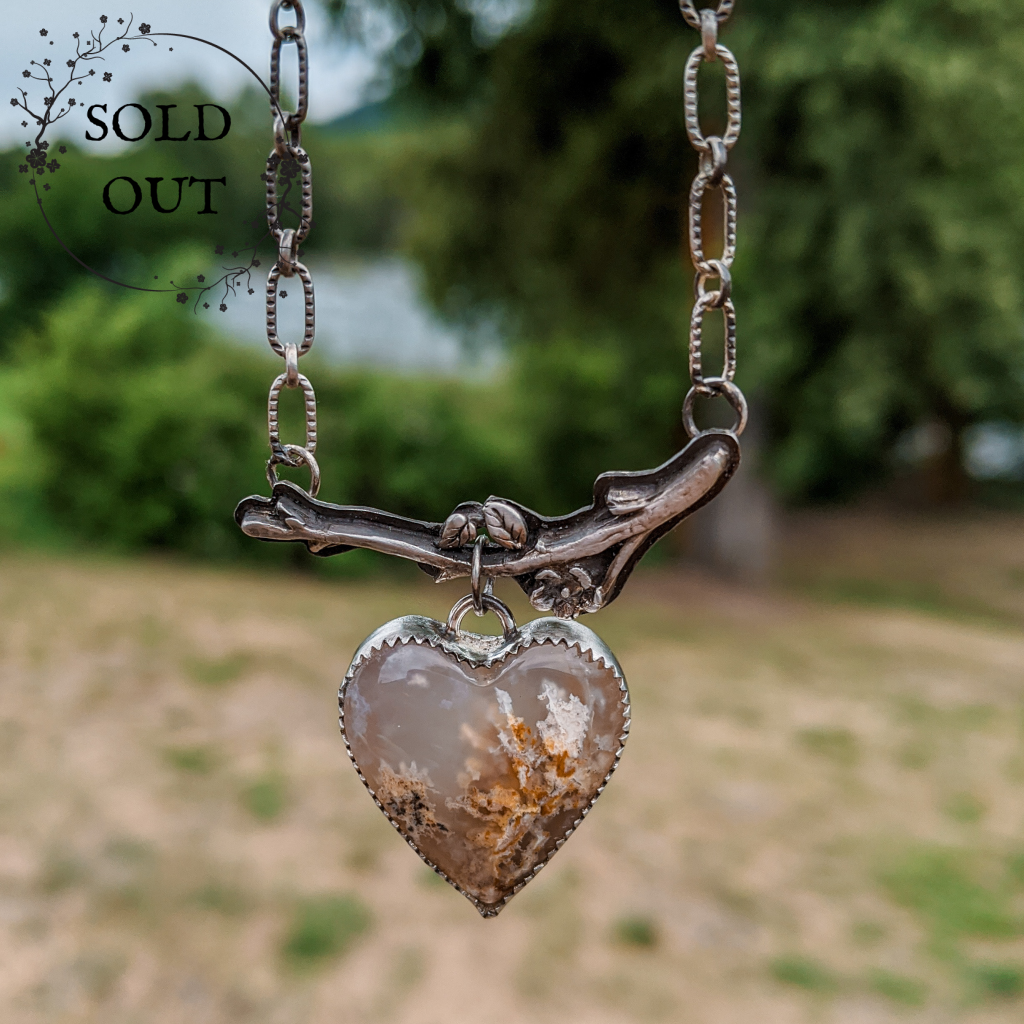 Enchanted Earth Collection Heart Necklace