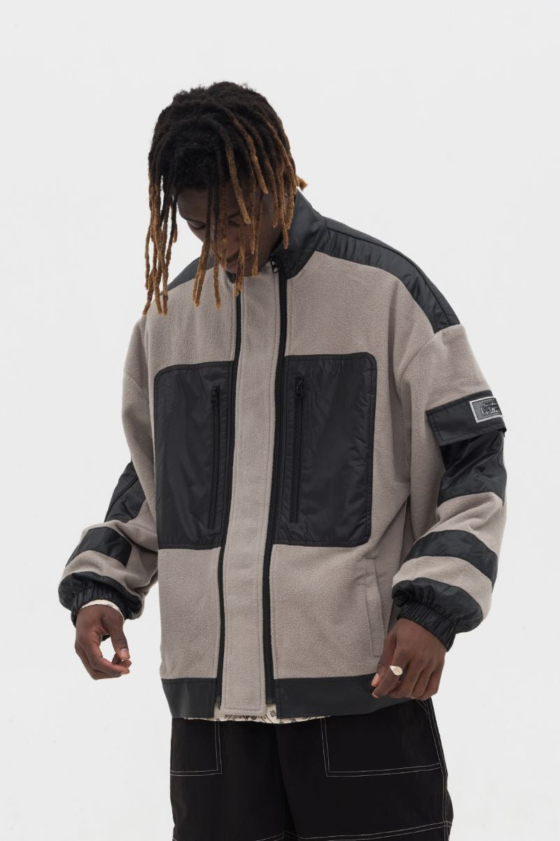 Empty Reference Sherpa Jacket