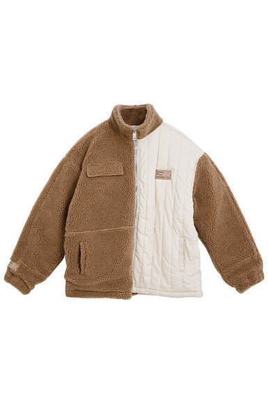 STEEPC Sherpa Stitching Jacket