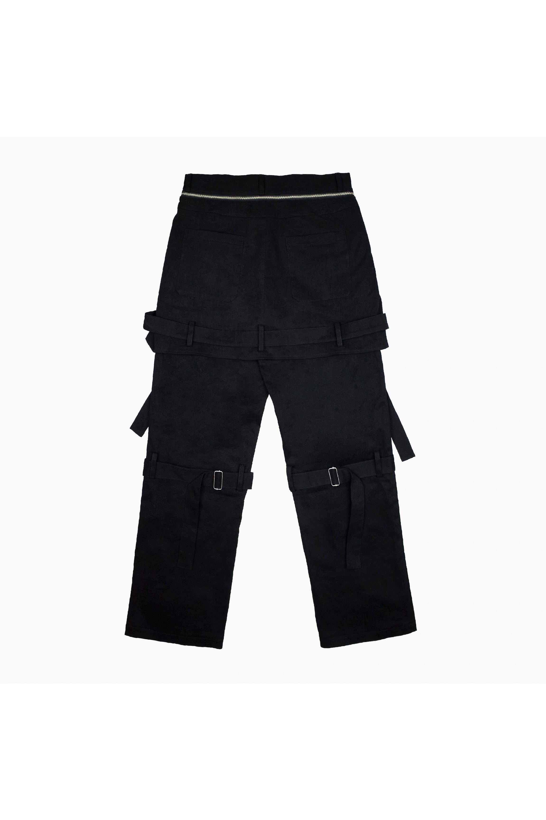 Empty Reference Zip Pants