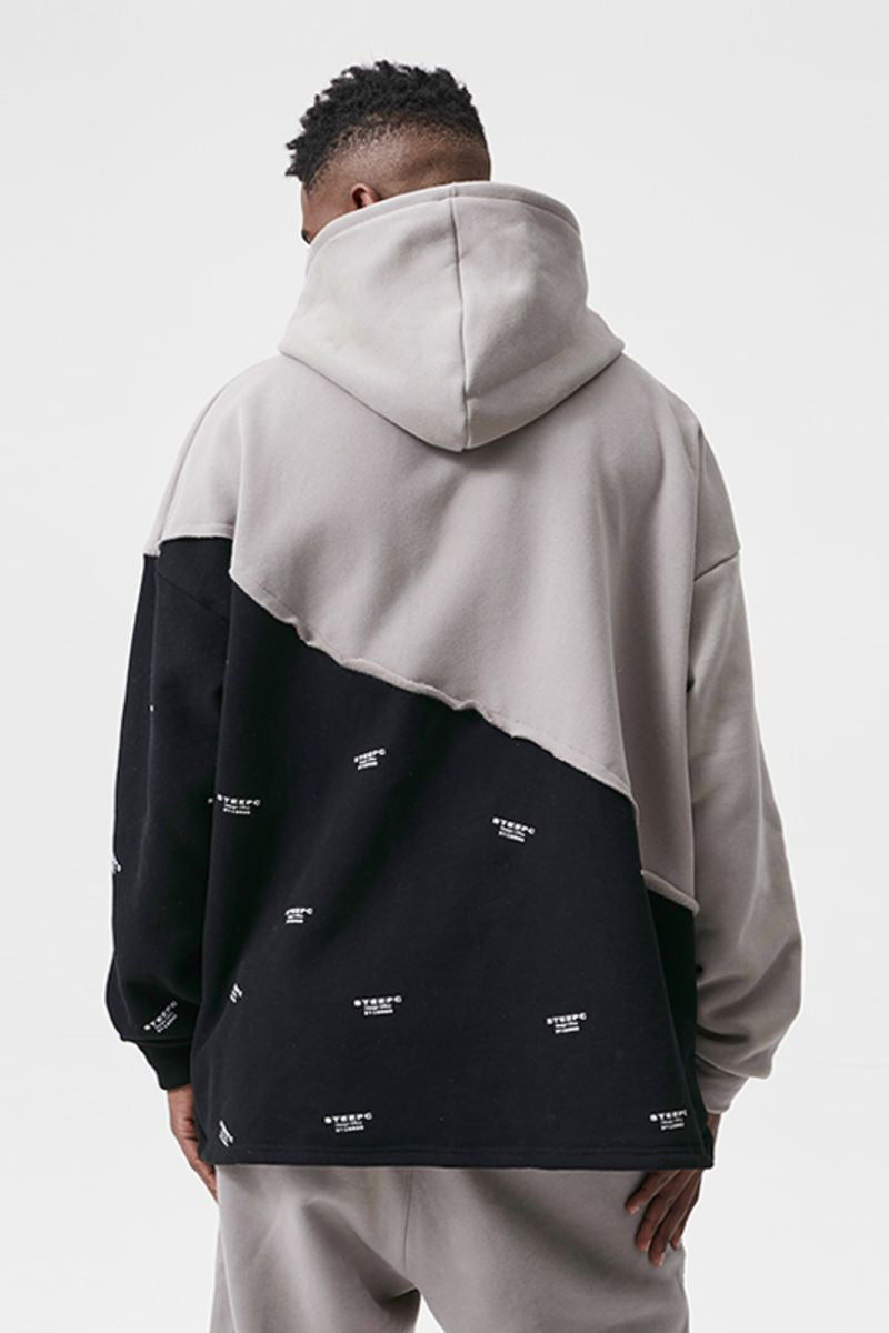 STEEPC Logo Removable Collar Hoodie