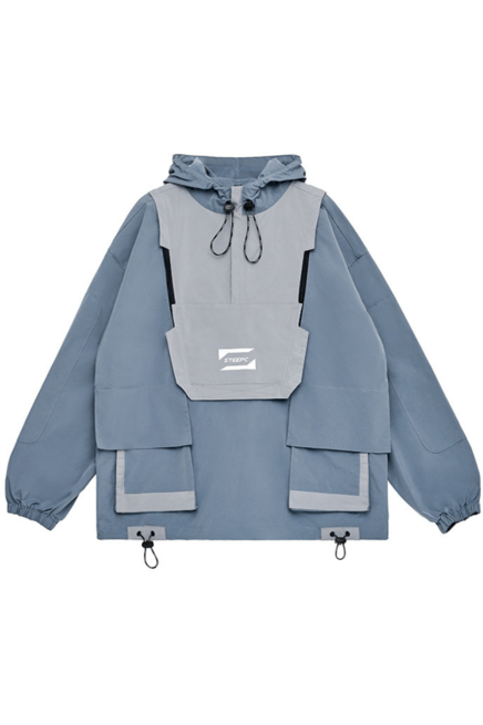 STEEPC Detachable Hooded Jacket