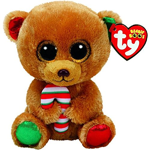 Ty Beanie Boos Bella the Christmas Bear - Small