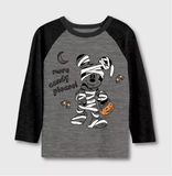 "Mickey Mouse ""More Candy Please"" Halloween Long-Sleeve T-Shirt"