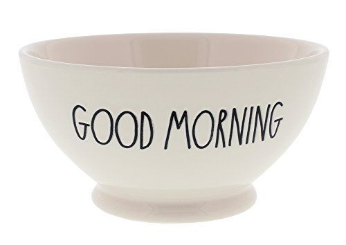 Rae Dunn by Magenta 'GOOD MORNING' Large Letter Bowl
