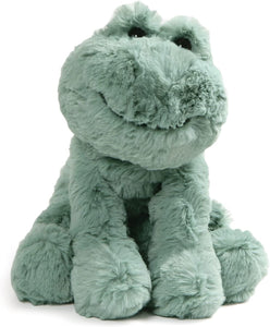 GUND Cozys Collection Frog Stuffed Animal Plush, Pale Olive, 8""