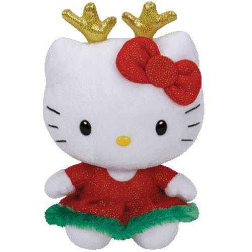 TY Beanie Babies - Hello Kitty Holiday Reindeer