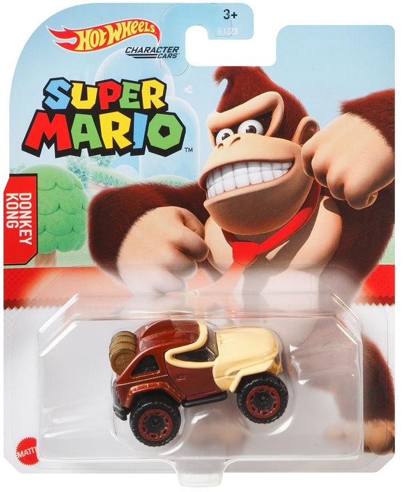 Hot Wheels Super Mario character Diecast Cars