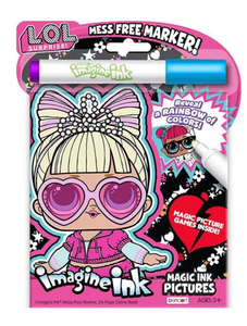 Imagine Ink Magic Ink Picture Activity Book