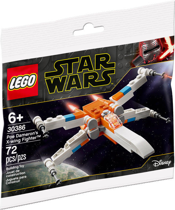 LEGO Star Wars Poe Dameron's X-wing Fighter 30386