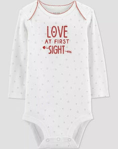 """Love At First Sight"" Bodysuit  - Just One You made by Carter's"