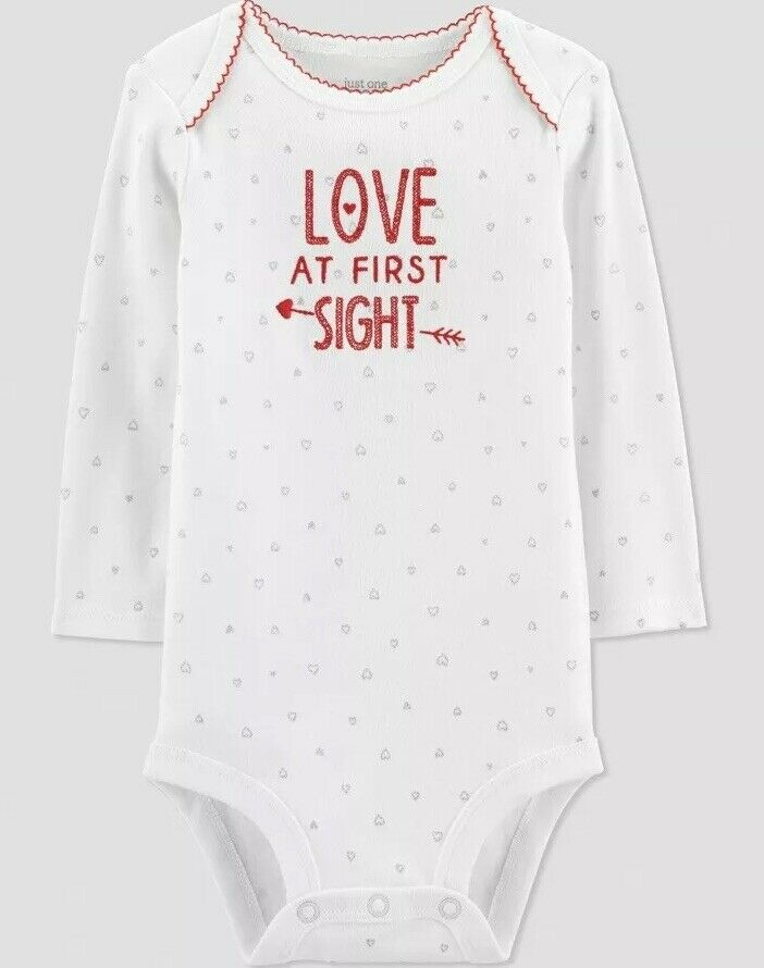 Love At First Sight Bodysuit Just One You made by Carter's