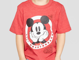 Mickey Mouse Lil' Heartbreaker T-Shirt by Disney