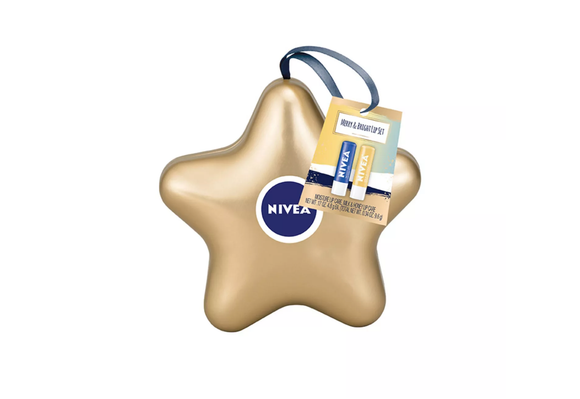 Nivea Lip Balm Star Gift Set - 2pk (0.34oz)