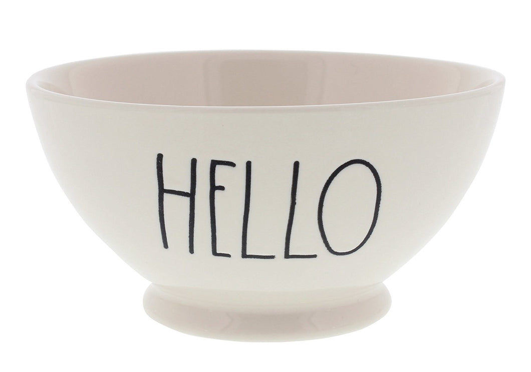 Rae Dunn by Magenta 'HELLO' Large Letter Bowl