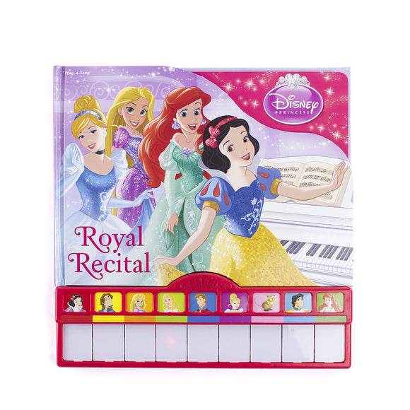 Disney Princess - Royal Recital Board Book with Built-In Keyboard Piano