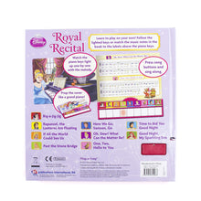 Load image into Gallery viewer, Disney Princess - Royal Recital Board Book with Built-In Keyboard Piano