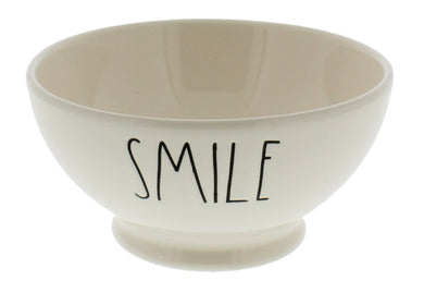 Rae Dunn by Magenta SMILE Bowl