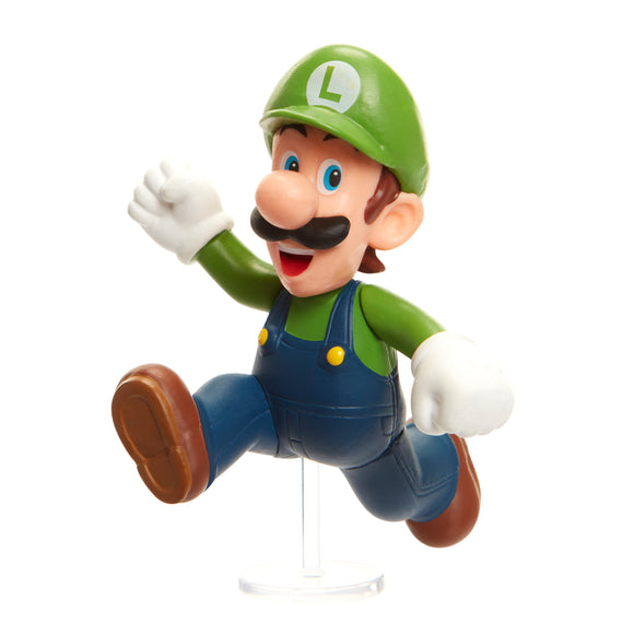 Nintendo Super Mario Bros Mini Figure - Running Luigi