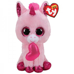 Darling the Unicorn Beanie Boo by TY - 6""