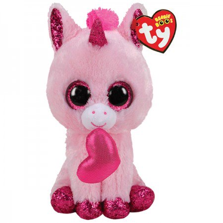 Darling the Unicorn Beanie Boo by TY - 6