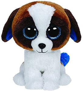 "Ty Beanie Boos - Duke the Dog 6"" Small"