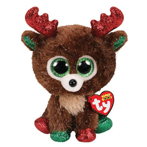 Fudge the Beanie Boo Reindeer by TY