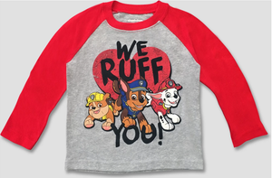 "Toddler PAW Patrol ""We Ruff You"" T-Shirt"