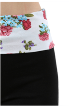 Load image into Gallery viewer, Floral Yoga Pant