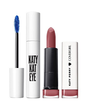 Load image into Gallery viewer, CoverGirl Katy Kat Gift Set with Eye Perry Blue Mascara & Matte Lipstick, Catoure