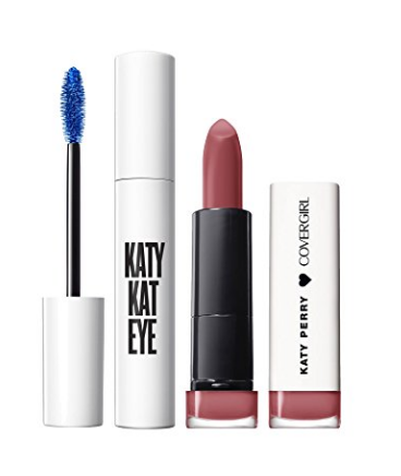 48d1a4bc2d8 ... CoverGirl Katy Kat Gift Set with Eye Perry Blue Mascara & Matte  Lipstick, Catoure