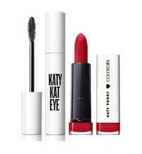 CoverGirl Katy Kat Gift Set with Eye Very Black Mascara & Matte Lipstick, Crimson Cat