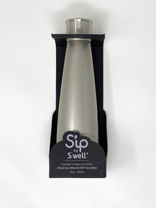 S'ip by S'well 15oz Water Bottle - Sterling