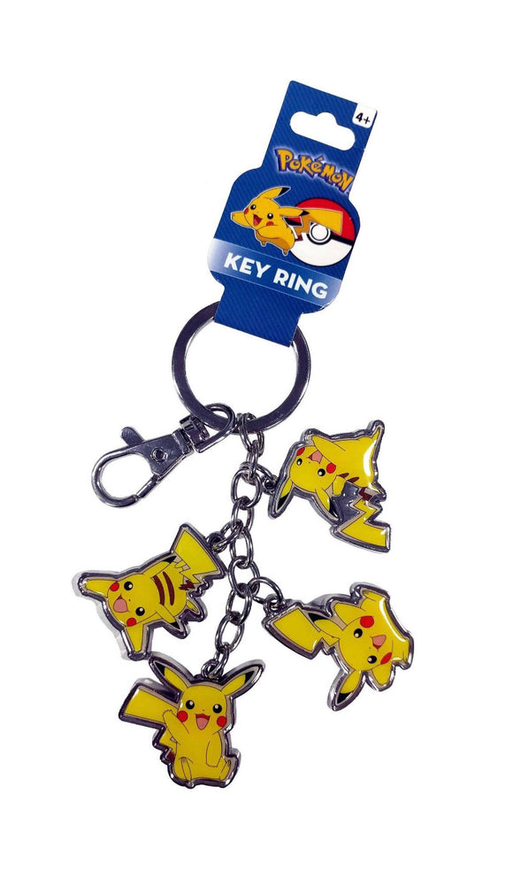 Pokémon Pikachu Metal Key Ring Keychain