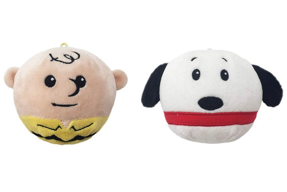Peanuts Fluffball Ornament 2 Pack - Charlie Brown and Snoopy