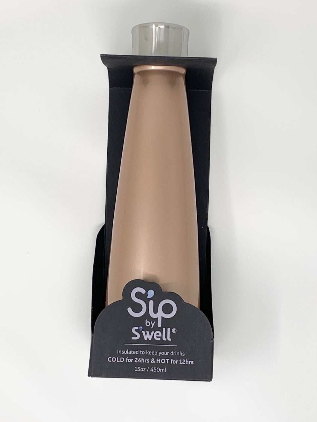 S'ip by S'well 15oz Water Bottle - Golden Rose