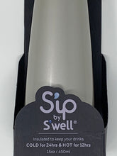 Load image into Gallery viewer, S'ip by S'well 15oz Water Bottle - Sterling