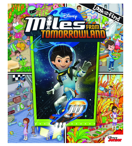 Miles for Tomorrowland Look and Find Book