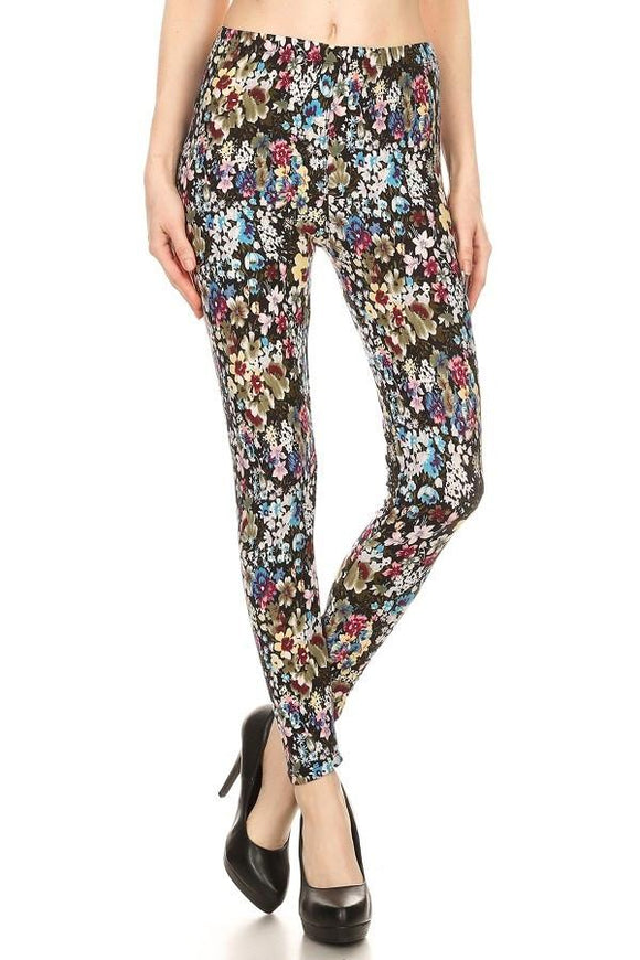 Mini Floral Buttery Soft Leggings