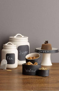 Rae Dunn Magenta Boutique Chalkboard Jar - Medium