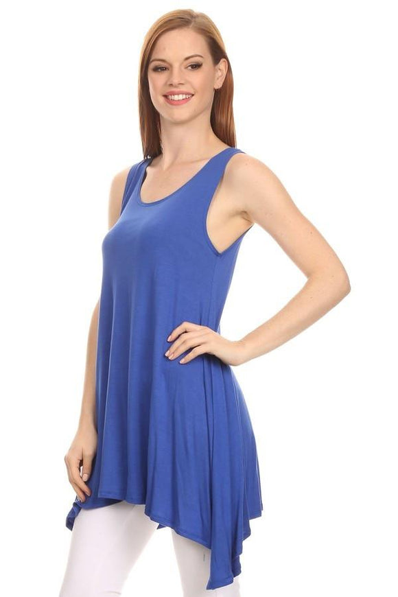 Sleeveless Tunic Tank