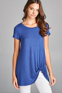 A Twist Above the Rest Tunic Top