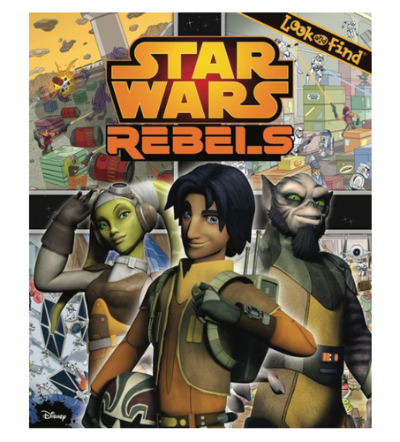 Star Wars Rebels Look and Find Book